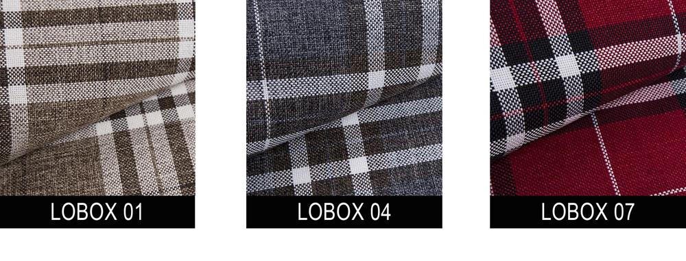 Tkanina LOBOX kanapa BELLISA
